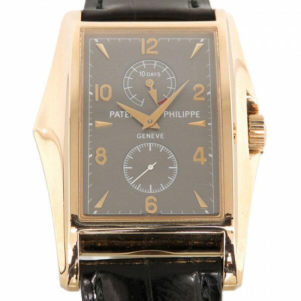 パテック フィリップ PATEK PHILIPPE 10デイズ 世界限定750本 5100R-001 グレー文字盤 メンズ 腕時計 【中古】