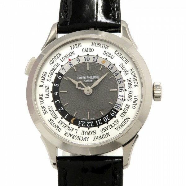パテック フィリップ PATEK PHILIPPE ワールドタイム 5230G-001 ホワイト/グレー文字盤 メンズ 腕時計 【新品】