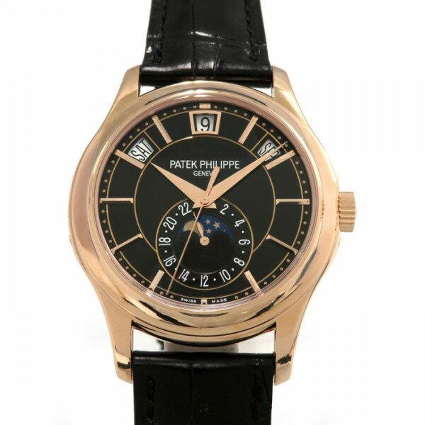 パテック フィリップ PATEK PHILIPPE アニュアルカレンダー 5205R-010 ブラック文字盤 メンズ 腕時計 【新品】