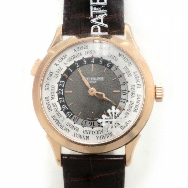 パテック フィリップ PATEK PHILIPPE ワールドタイム 5230R-001 グレー文字盤 メンズ 腕時計 【新品】