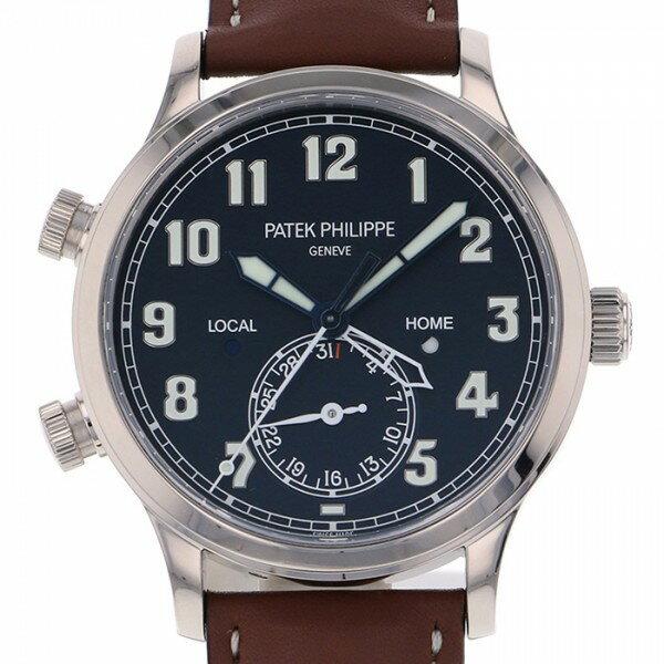 パテック・フィリップ PATEK PHILIPPE カラトラバ パイロット トラベルタイム 5524G-001 ブルー文字盤 メンズ 腕時計 【未使用】