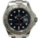 ロレックス ROLEX ヨットマスター ロレジウム 116622 ブルー文字盤 メンズ 腕時計 【中古】