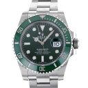 ロレックス ROLEX サブマリーナデイト 116610LV グリーン文字盤 メンズ 腕時計 【中古】