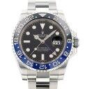 ロレックス ROLEX GMTマスター II 116710BLNR ブラック文字盤 中古 腕時計 メンズ