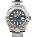 ロレックス ROLEX ヨットマスター 40 116622 ダークロジウム文字盤 中古 腕時計 メンズ