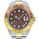 ロレックス ROLEX GMTマスターII 16713 ブラウン文字盤