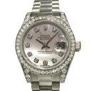 ロレックス ROLEX デイトジャスト 179159NG ホワイトシェル文字盤 レディース 腕時計