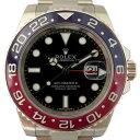 ロレックス ROLEX GMTマスターII 116719BLRO ブラック文字盤