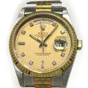 ロレックス ROLEX デイデイト 18239 シャンパン文字盤 メンズ 腕時計