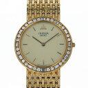 セイコー SEIKO クレドール ベゼルダイヤ 8N70-6190 アイボリー文字盤 アンティーク 腕時計 メンズ