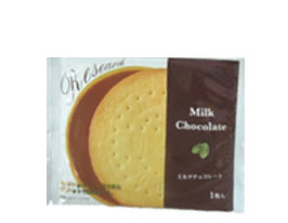 (本州送料無料)前田製菓 チョコレートサンドビスケットリサーチ(10×12)120入 (ケース販売).