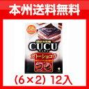 (本州送料無料!)味覚糖 CUCU キュキュ ガトーショコラ (6×2) 12入