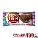 (本州一部送料無料) 江崎グリコ バランスオンminiケーキチョコブラウニー (20×24)480入 (Y12)。