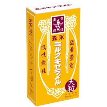 Morinaga森永制果经典牛奶焦糖袋装特色风味12粒*5盒
