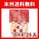 (本州送料無料) カンロ ピュレサプリグミ 72g (6×4)24入