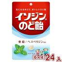 (本州送料無料) 味覚糖 イソジンのど飴 ペパーミント(6×4)24入