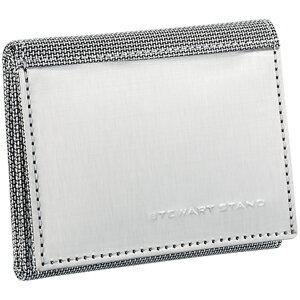 スチュワートスタンド ステンレス三つ折り財布【き手数料無料】【送料無料】