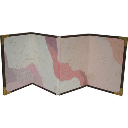 ミニ屏風 4曲 (小) 継ぎ紙 110×305mm