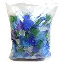 【オリジナルキャンドル キャンドル材料】ビーチグラスチップ 中 (1kg)