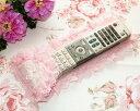 リモコンカバー レース おしゃれ 薔薇雑貨 ロココ調・ピンク 可愛い 母の日ギフト