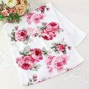 薔薇雑貨 フェイスタオル 薔薇 かわいい おしゃれ 花柄 ローズヴィーナス 母の日ギフト