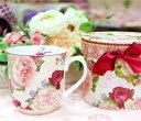 マグカップ 北欧 おしゃれ 可愛い セット フタ付 大きい 薔薇雑貨姫系 花柄 ボタニカル バラ 雑貨 花柄 かわいい 母の日ギフト 02P28Sep16