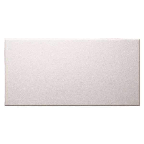 【単品】 吸音パネル/防音フェルトボード 【60×30cm/ホワイト】 45度カット 簡単取り付け