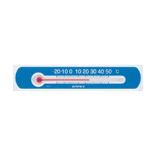 (まとめ)EMPEX 温度計 マグネットサーモ・ミニ ヨコ型 TG-2526 ブルー【×10セット】 青 (カテゴリー:家電>生活家電>その他の生活家電 )