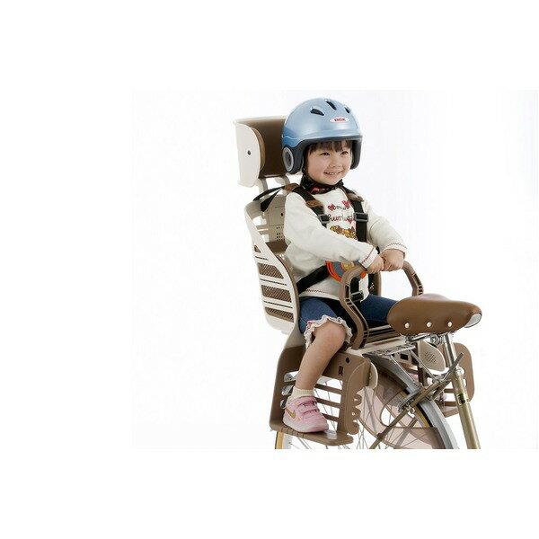 【送料無料】ヘッドレスト付きデラックス後ろ用子供乗せ(自転車用チャイルドシート) 【OGK】RBC-007DX3 アイボリー (カテゴリー:スポーツ>レジャー>自転車(スポーツバイク)>その他の自転車 ) 超衝撃吸収パッド採用ヘッドレスト付子供のせ/自転車アクセサリ スポーツ レジャー 自転車(スポーツバイク) その他の自転車
