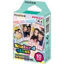 富士フイルム チェキ用カラーフィルム instax mini ステンドグラス 1パック品(10枚入) INSTAX MINI STAINED GLASS 1