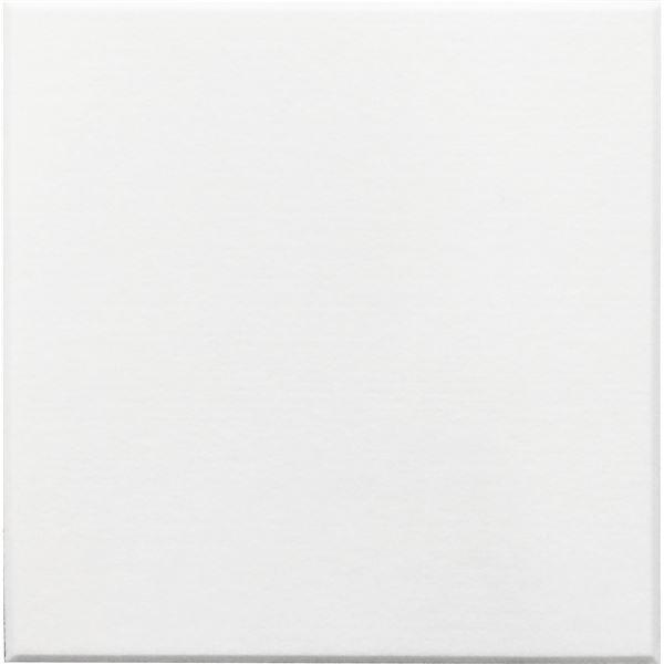 【単品】 吸音パネル/防音フェルトボード 【40×40cm/ホワイト】 45度カット 簡単取り付け
