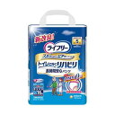 ショッピングパック (まとめ)ユニ・チャーム ライフリーリハビリパンツ M 1パック(16枚)【×5セット】