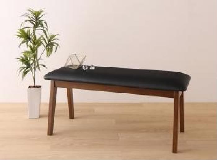 【送料無料】単品 ベンチ さっと拭ける PVCレザーダイニング ファシオ (2人掛け 座面幅 2P)(座面カラー ブラック) 黒 黒 チェア ベンチ さっと拭ける PVCレザーダイニング ブラック新しいです