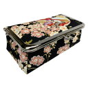 ショッピングコスメ b-andyu 日本製 和雑貨 コスメポーチ しだれ桜 黒 106  【abt-1643685】【APIs】