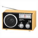 オーム電機 OHM AudioComm AM/FM 木製ラジオ ワイドFM対応 ホームラジオ RAD-T556Z  【abt-1093366】【APIs】