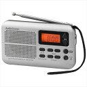 OHM AudioComm AM/FMポケットラジオ スリム RAD-P270N  【abt-1340065】【APIs】