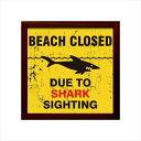 サインフレーム Shark Sighting ZSF-52033 【yst-1236399】【APIs】
