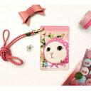ショッピングネックストラップ JETOY(ジェトイ) カードネックストラップ/ピンクずきん