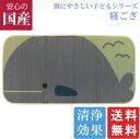 【送料無料】国産 くじら 70×140cm こども ねござ 【日本製】