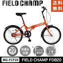 Bicycles - FIELD CHAMP FDB20 (オレンジ)【送料無料】