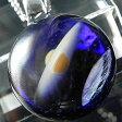 【送料無料!】1点物、土星&地球ガラスネックレス part2/メンズネックレス/土星&宇宙ガラスネックレス/ガラスペンダント 宇宙/宇宙ネックレス/メンズペンダント/日本製/ハンドメイド/ブランド<DEEP BLUE>【auktn】【売れ筋】