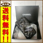 【中古】CHANEL/シャネルカンボンライン ラウンドジップ長財布(横型)【併売】【日立南店】