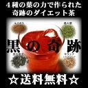 【送料無料】黒ウーロン茶を超えた☆4種の葉の力で作られた奇跡のダイエット茶黒の奇跡!
