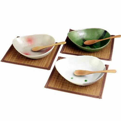 【送料無料】風趣 三角カレー皿セット