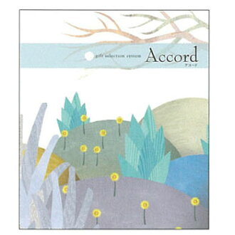 Choose catalog gift ドゥオーレ 3,000 yen course accord