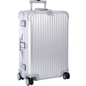 トパーズ ホイール シルバー スーツケース