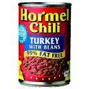 おつまみ ホーメル ターキー チリウィズビーンズ 缶 425g (71-3)(P026)