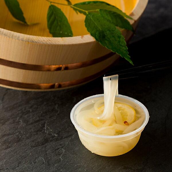 香川の老舗和菓子かねすえくずきりゼリーさぬきうどん風3個入りレモン風味お取り寄せスイーツグルメギフト