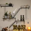 fire escape stand【ブックスタンド/ブルックリンスタイル/男前インテリア/壁/壁掛け/おしゃれ/アイアン/インテリア/アンティーク】