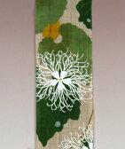 和風長尺細タペストリー・烏瓜の花